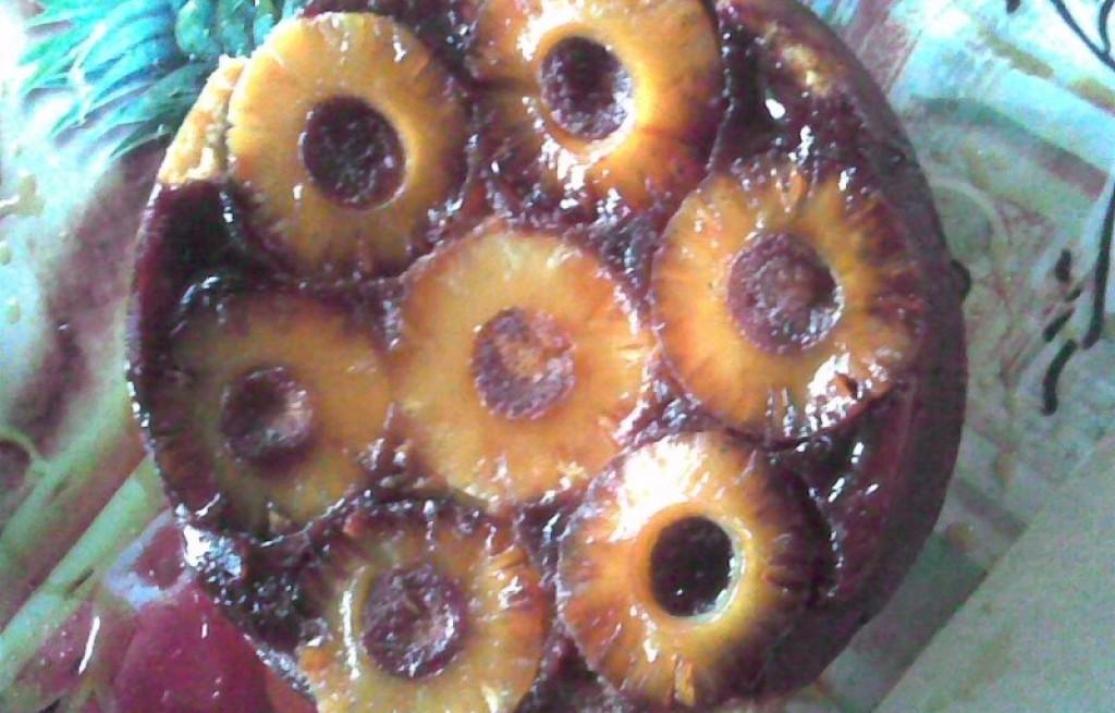 Ciasto z ananasa