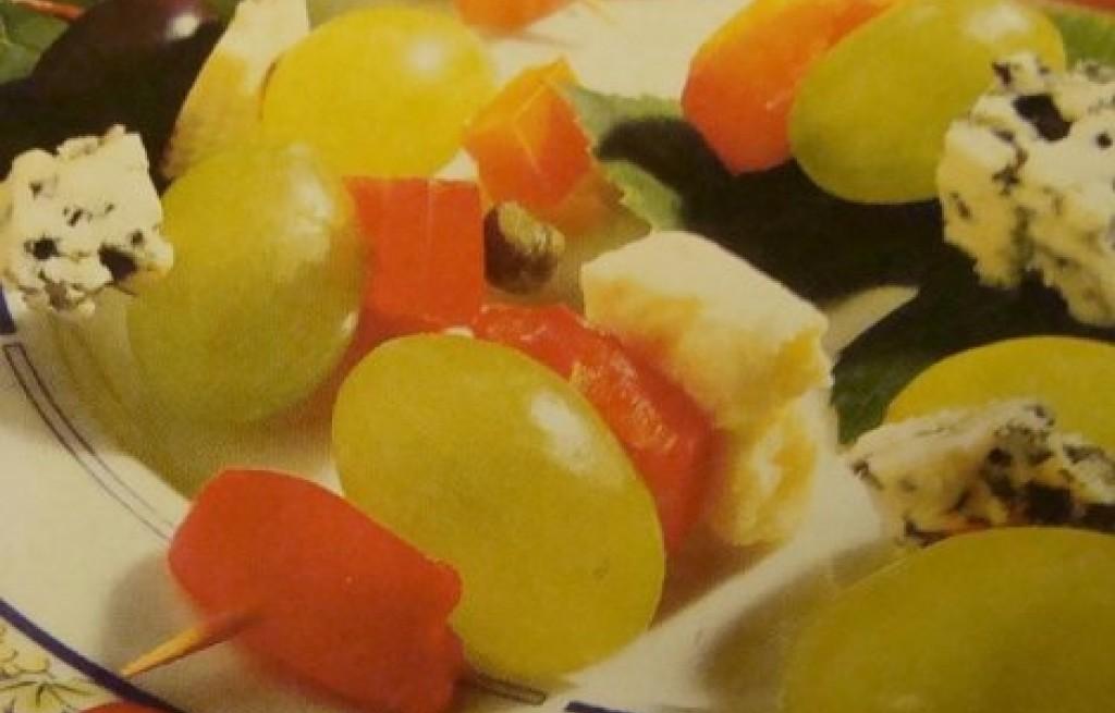 Owocowy szyszłyk