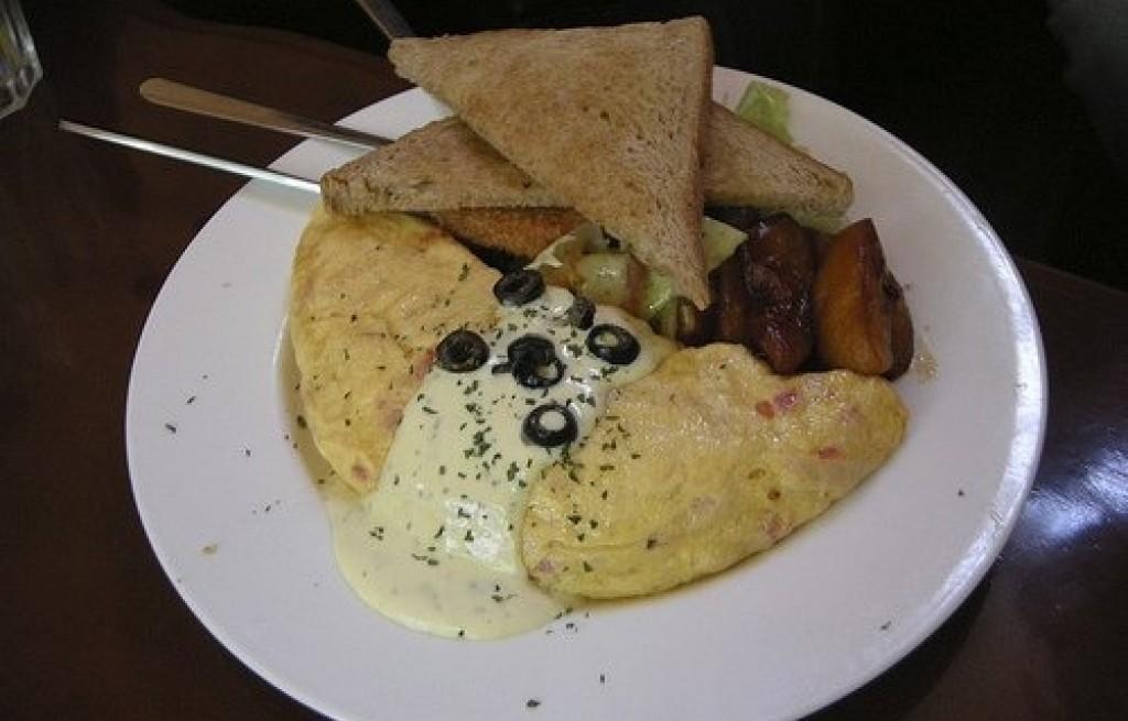 Omlet z bakaliami