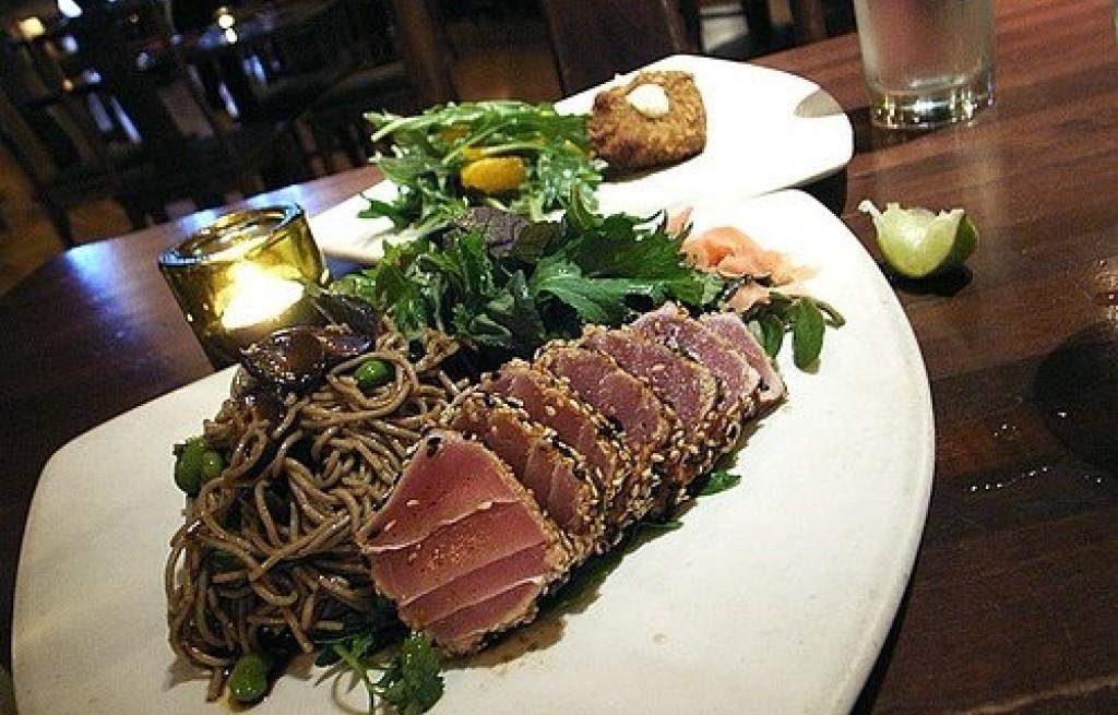 Tuńczyk z makaronem