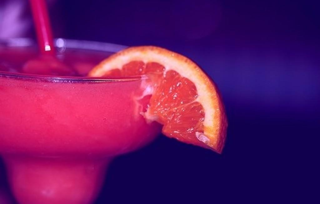 Różowy drink