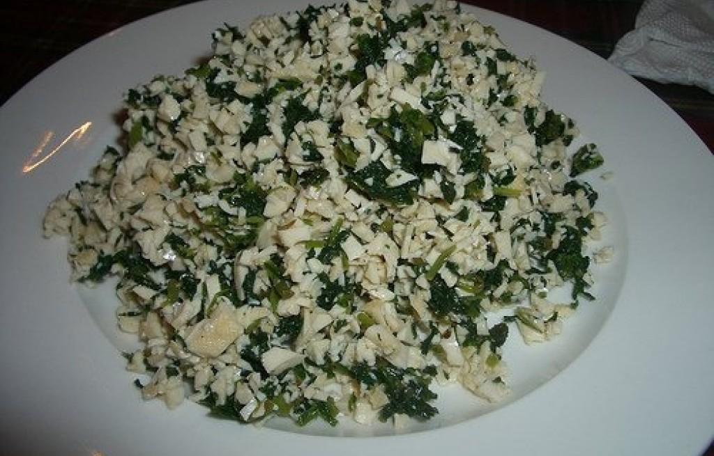 Tofu ze szczypiorkiem