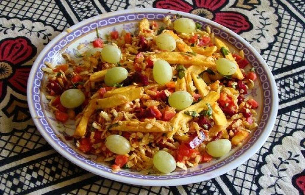 Ryż z frytkami