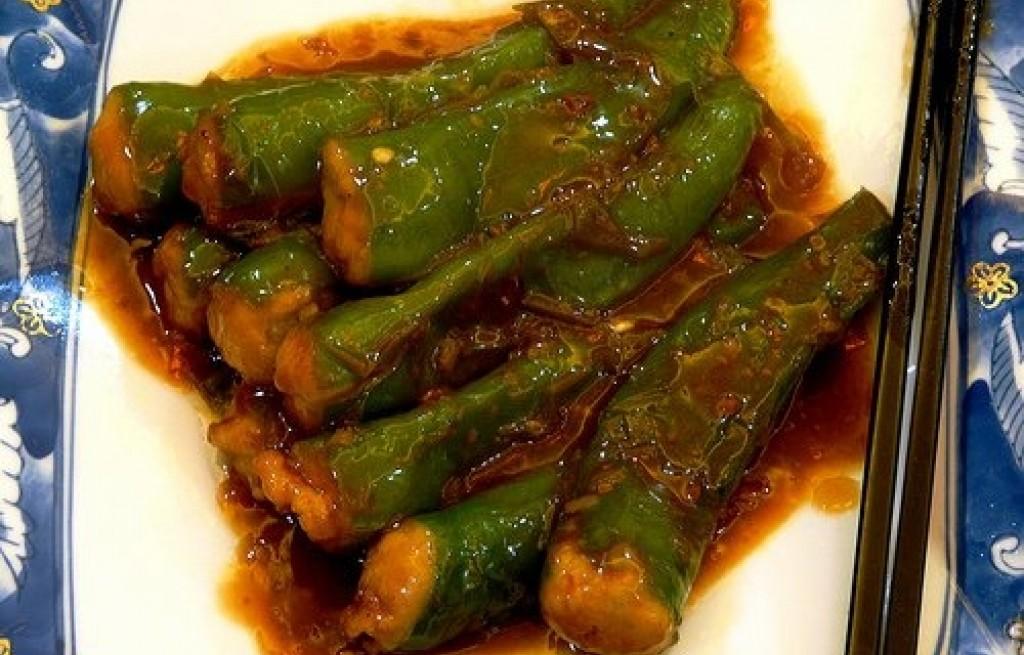 Papryki w sosie słodko-kwaśnym