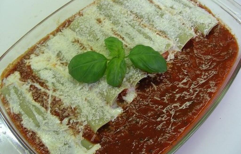 Cannelloni z parmezanem