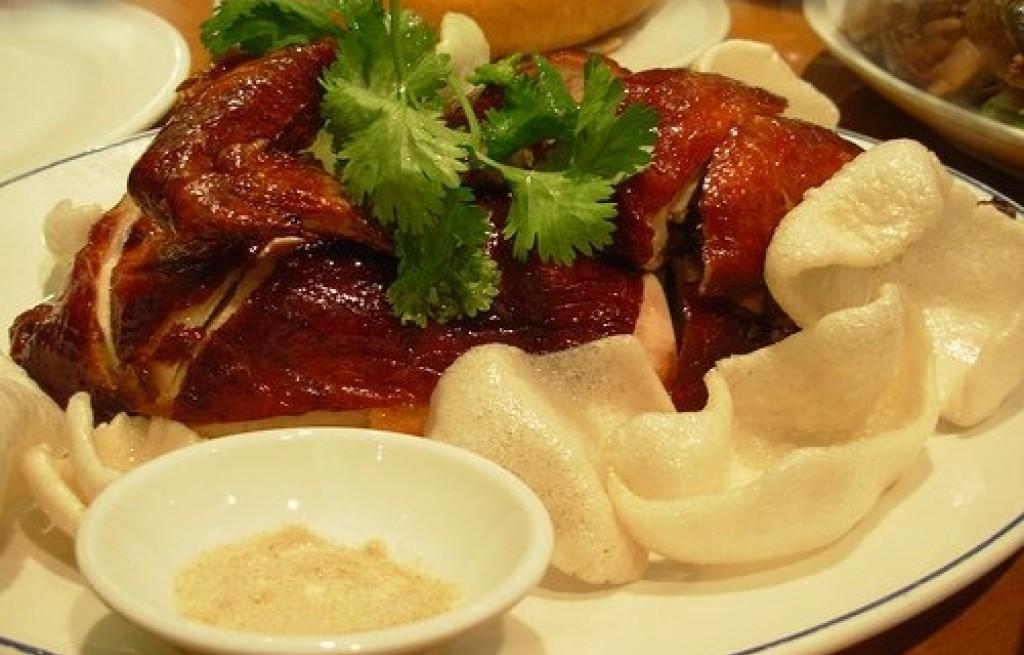 Kurczak pieczony z papryką i chipsami