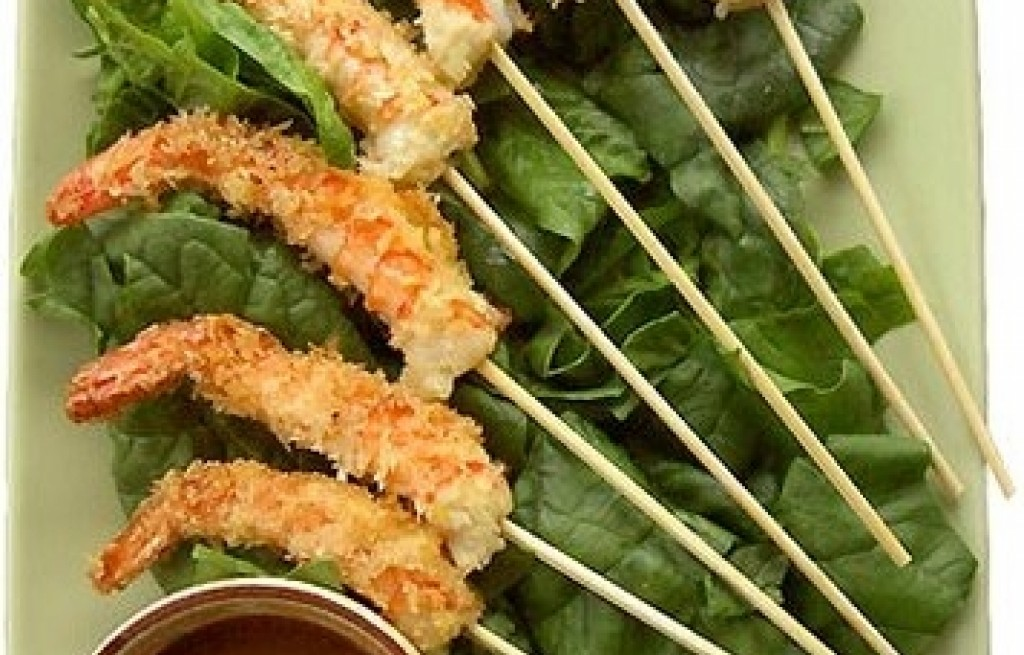 Krewetki marynowane z sosem