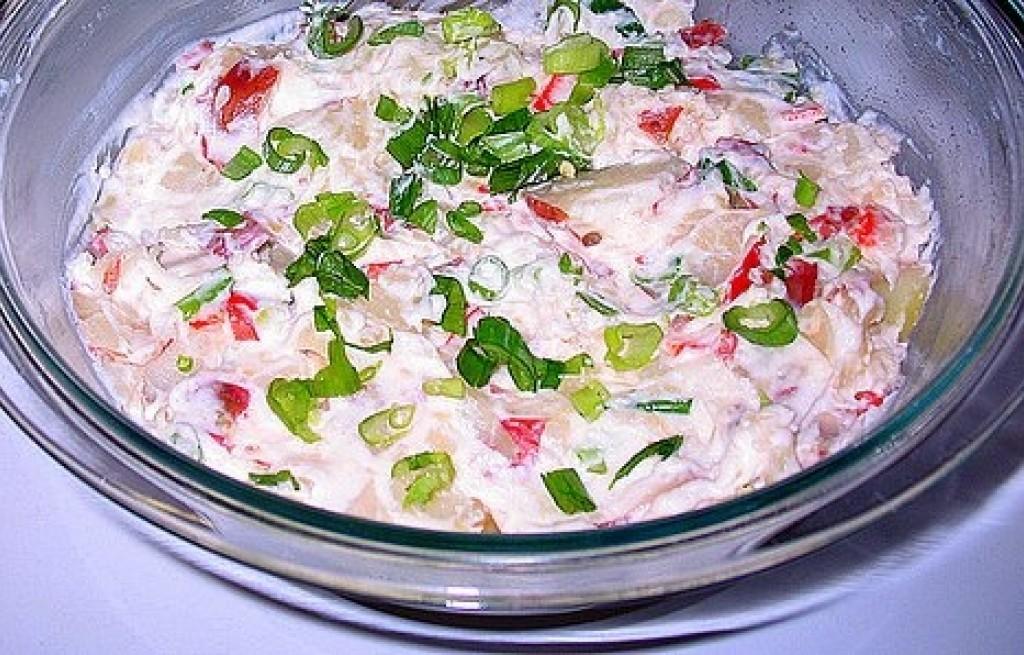 Salatka z ziemniakami