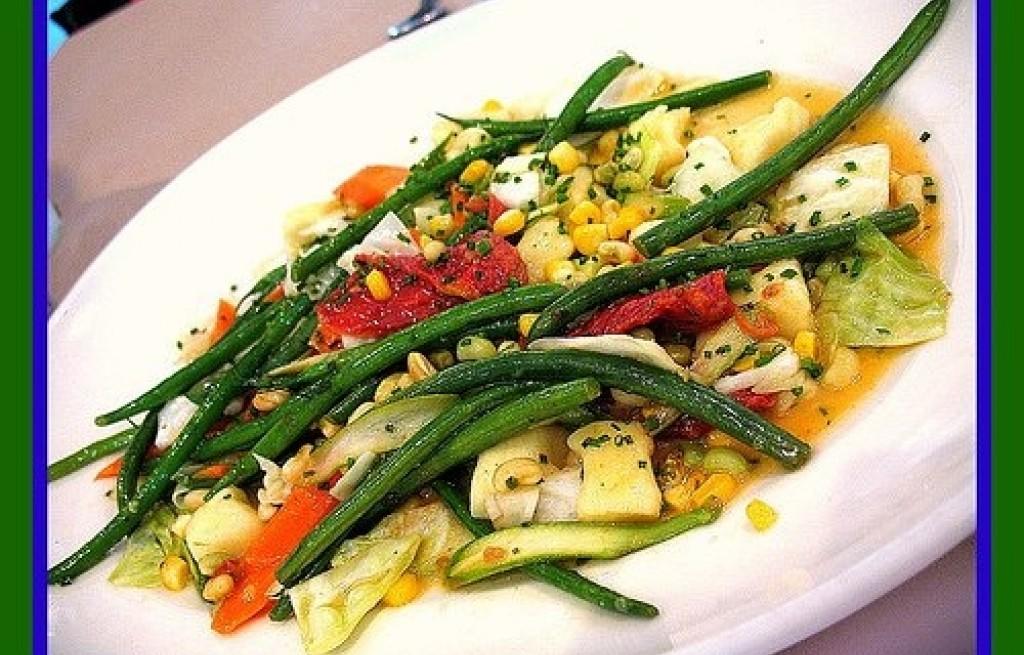 Kluski ziemniaczane z warzywami