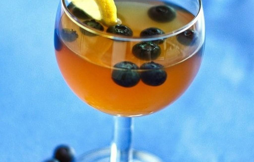 Lemoniada jagodowo-cytrynowa