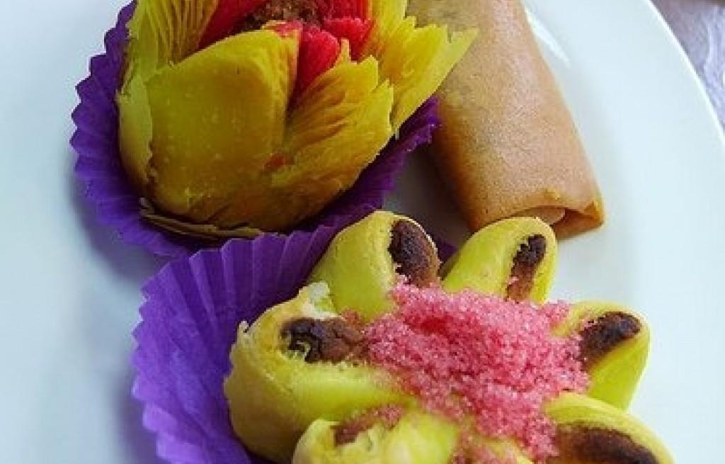 Ciasto francuskie z żurawiną i rodzynkami