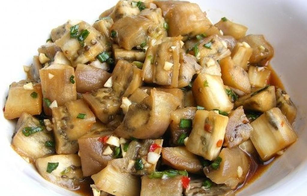 Bakłażan w pikantnym sosie