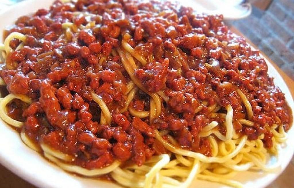 Spaghetti po chińsku