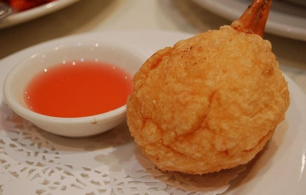 Kraby ze śliwkam w cieście i sokiem grejpfrutowym
