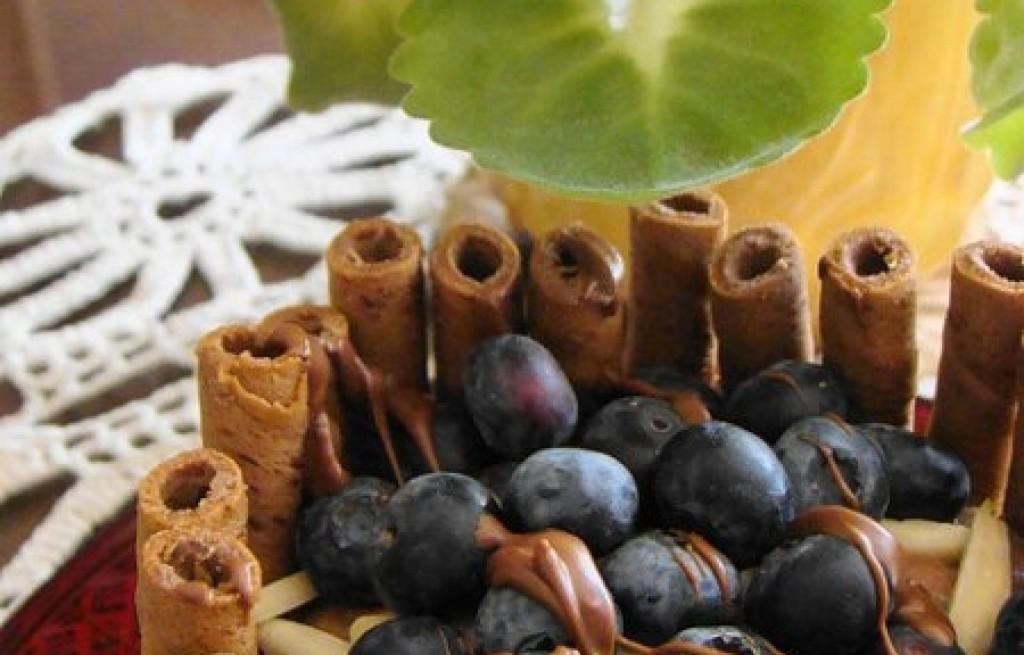 Sorbet czekoladowo-migdałowy
