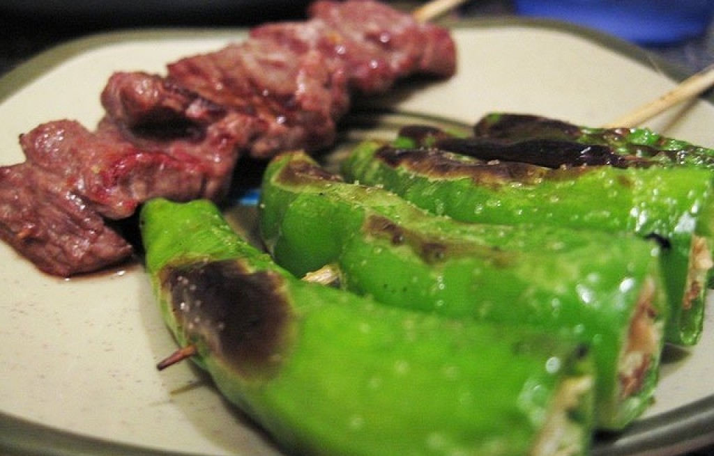 Papryka grillowana z wołowiną