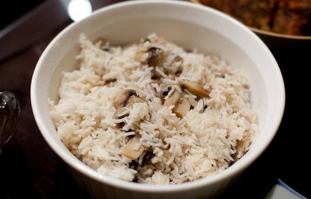 Ryż pieczarkowy