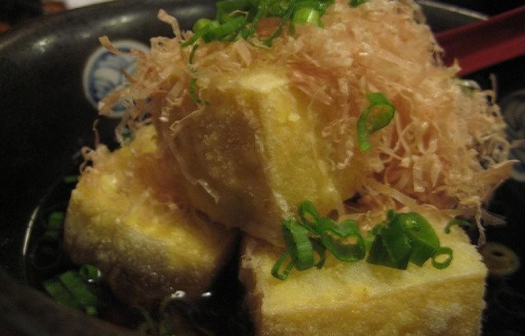 Tofu w sosie sojowym