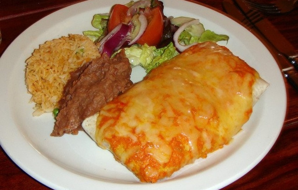 Enchiladas mięsne