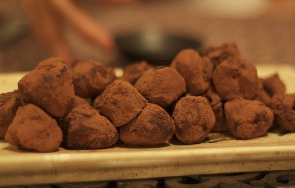 Trufle z czekolady