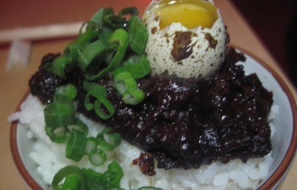 Wieprzowina z ryżem po japońsku