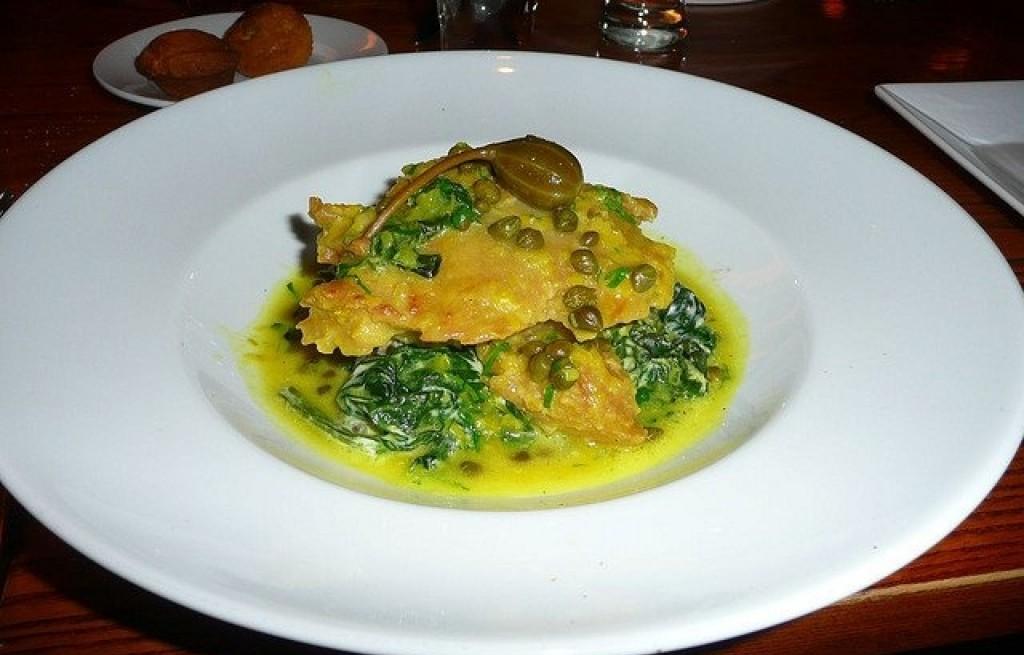 Piccata z indyka w sosie kaparowo-cytrynowym