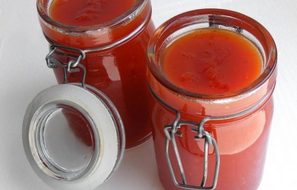 Dżem pomidorowy z chili
