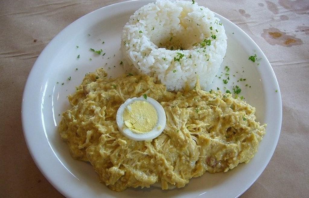 Kurczak po peruwiańsku
