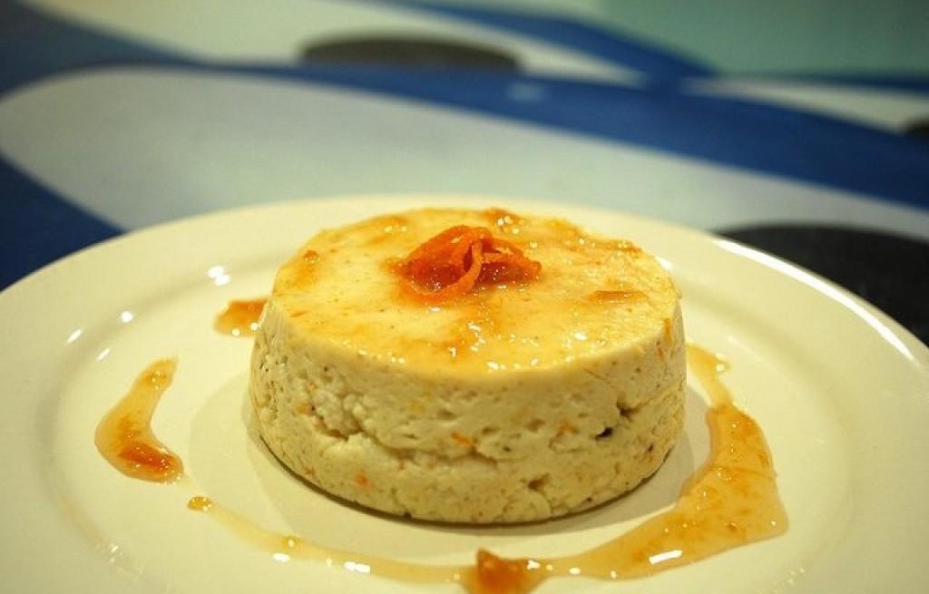 Pudding ryżowo-pomarańczowy