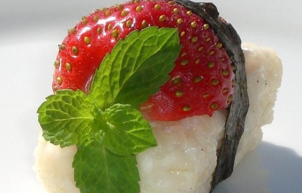 Słodkie sushi