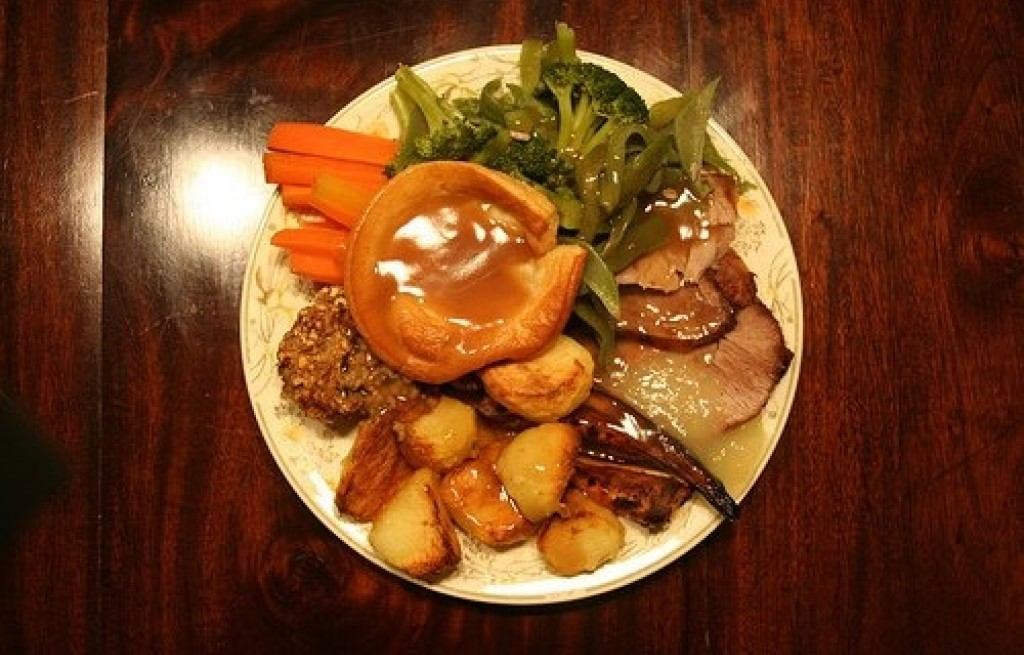 Wieprzowina z pieczonymi ziemniakami
