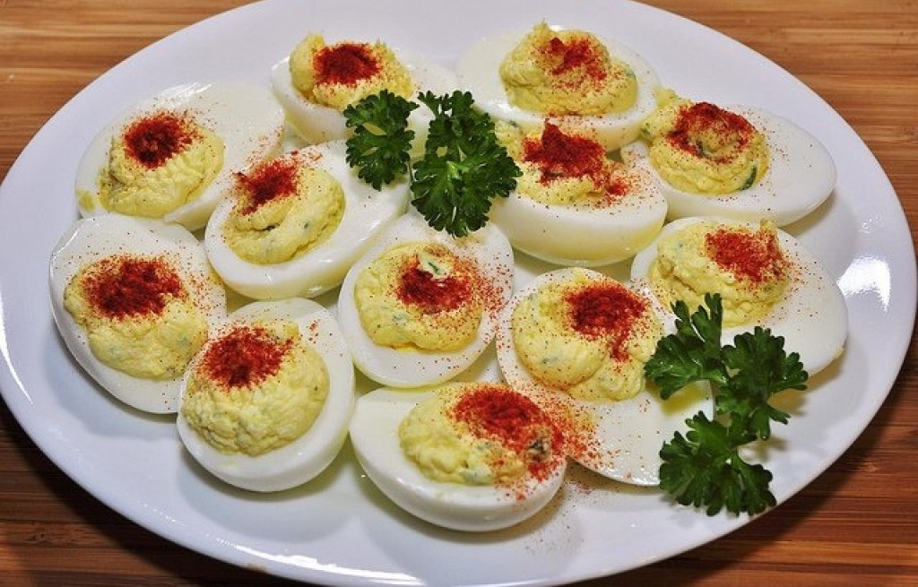Jajka z dorszem i majonezem