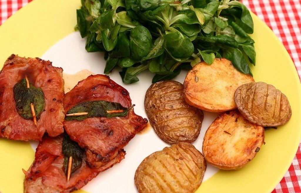 Ziemniaki pieczone z cielęciną