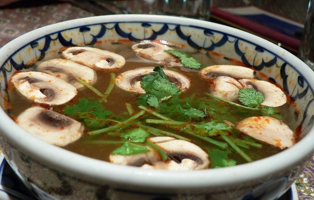 Zupa pieczarkowo-krewetkowa