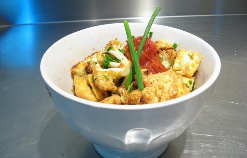 Kalafior smażony z tofu