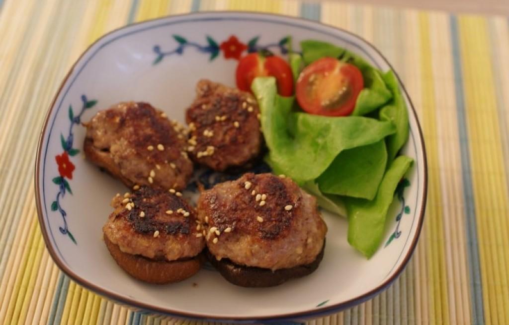 Shiitake hamburger