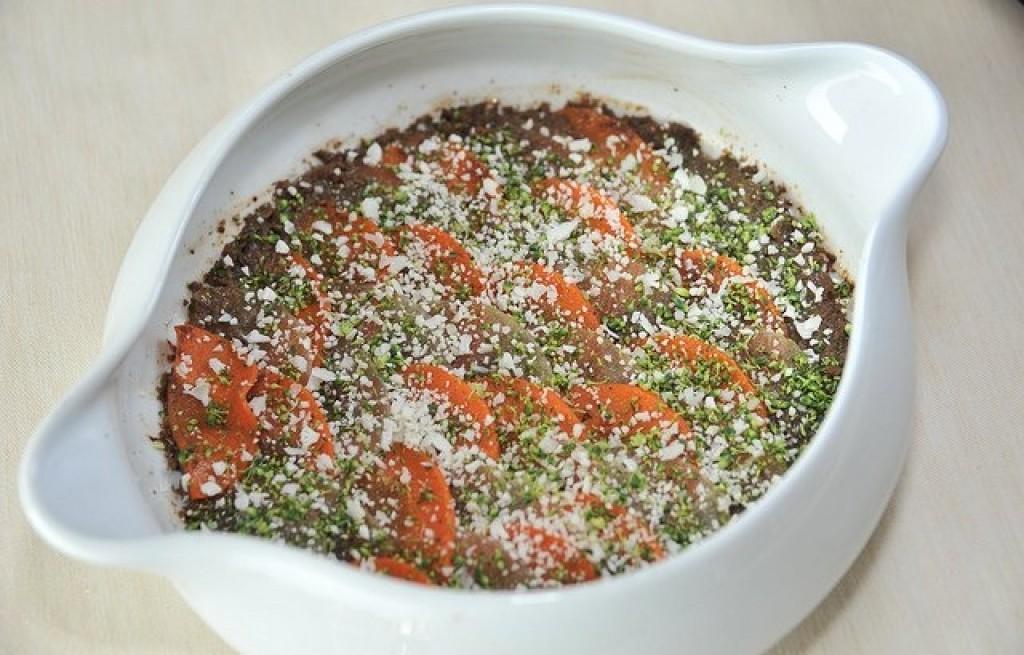 Zapiekanka warzywna z burakami