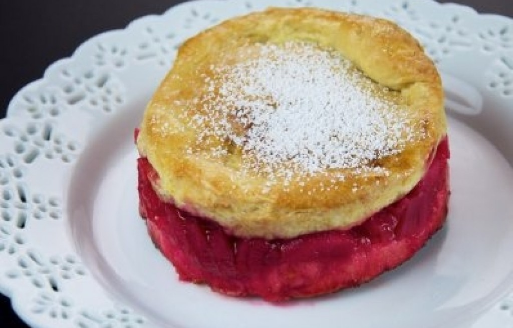 Ciastka rabarbarowo-jabłkowe