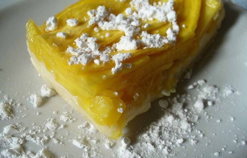Sablé z mango