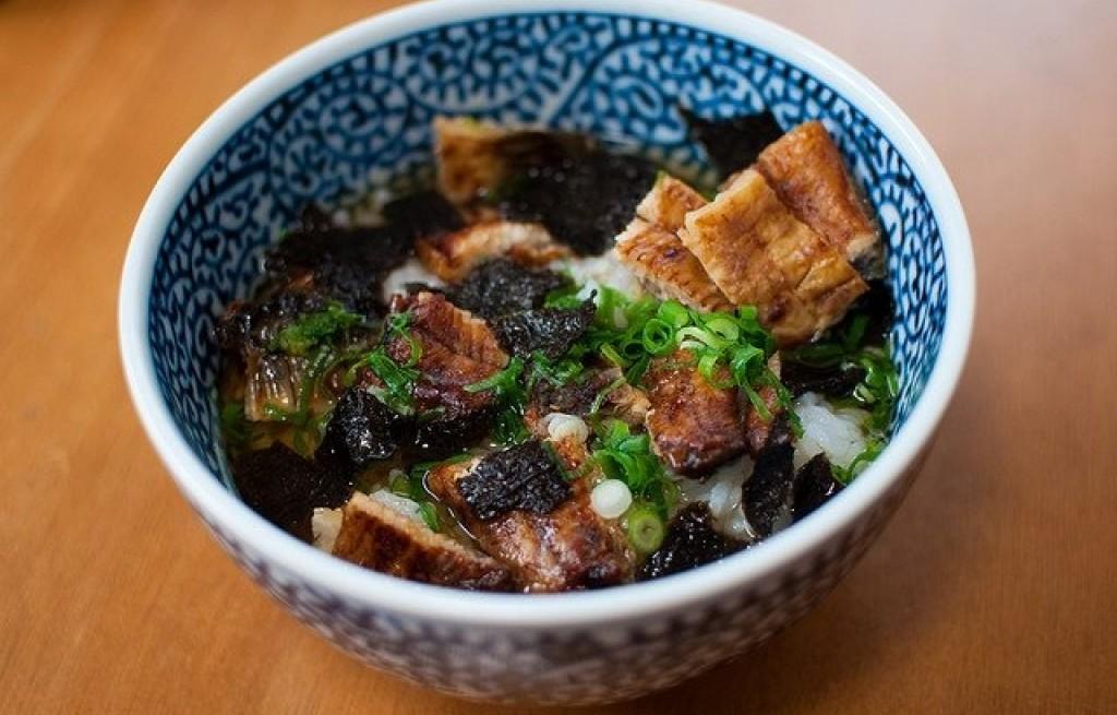 Hitsumabushi z węgorza i ryżu