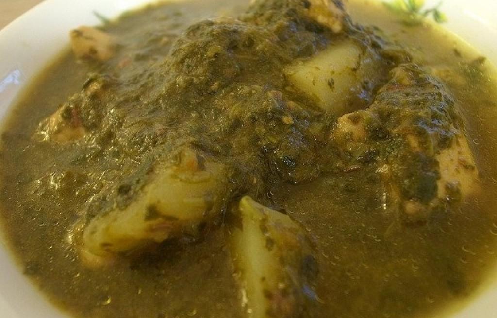 Curry z kurczaka i szpinaku