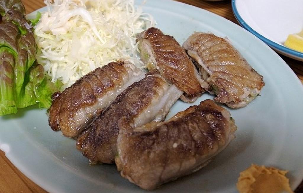 Zrazy z tuńczyka z rzepą i pastą z makreli