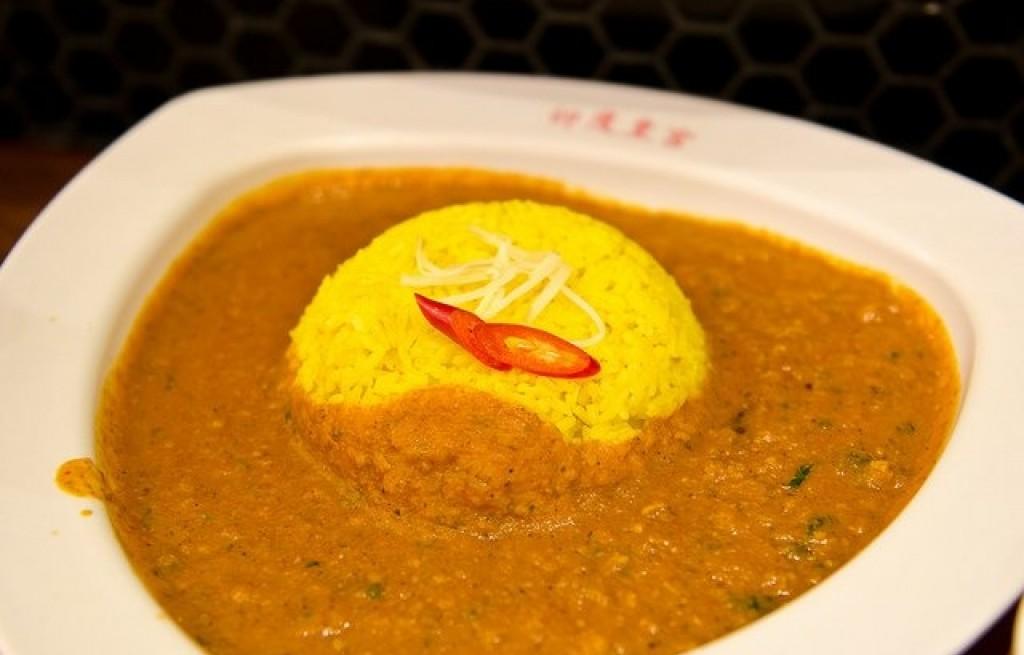 Curry z kurczaka z ryżem