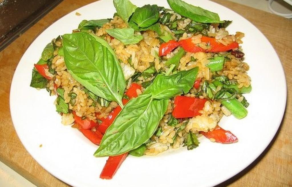 Ryż smażony po tajsku