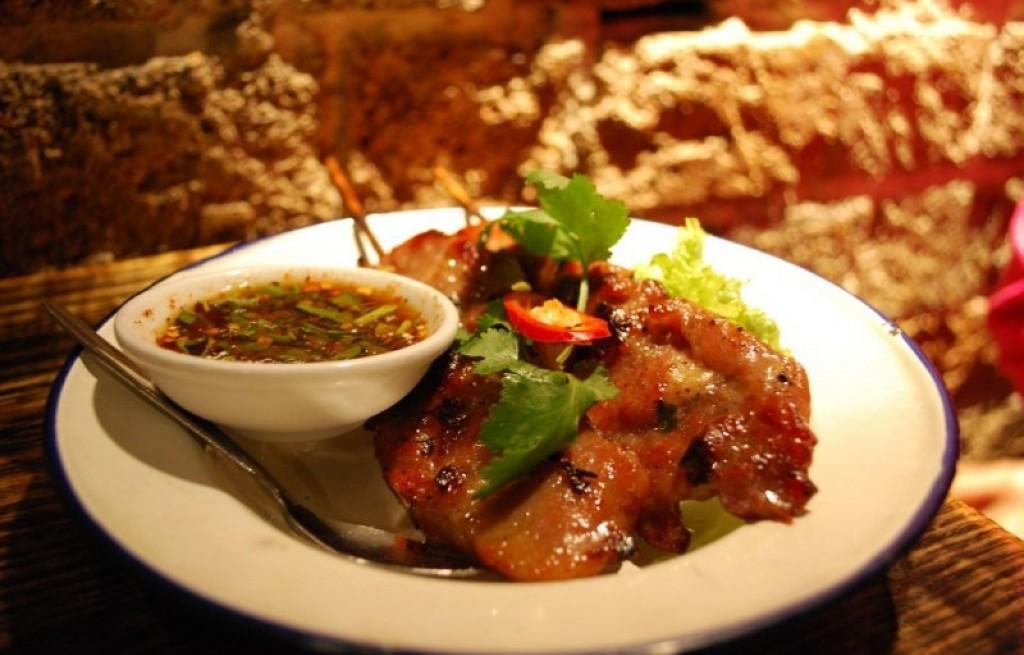 Wieprzowina z grilla po tajsku