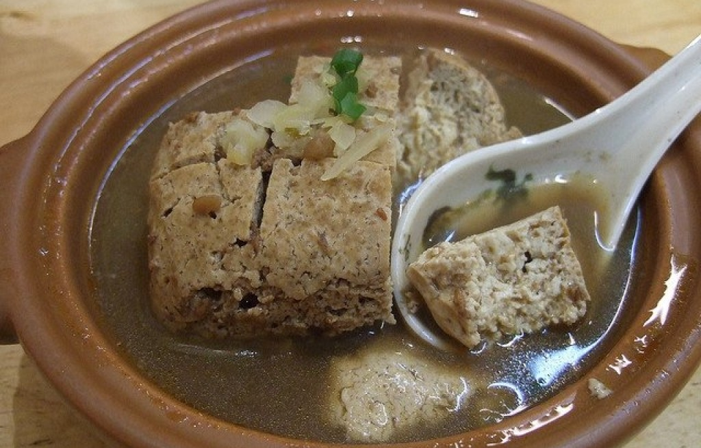 Tofu w bulionie