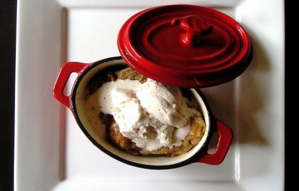 Pudding chlebowy z rodzynkami i chałką