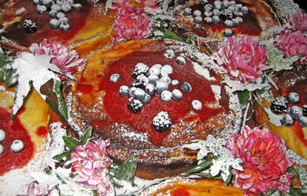 Serniczki z jagodami