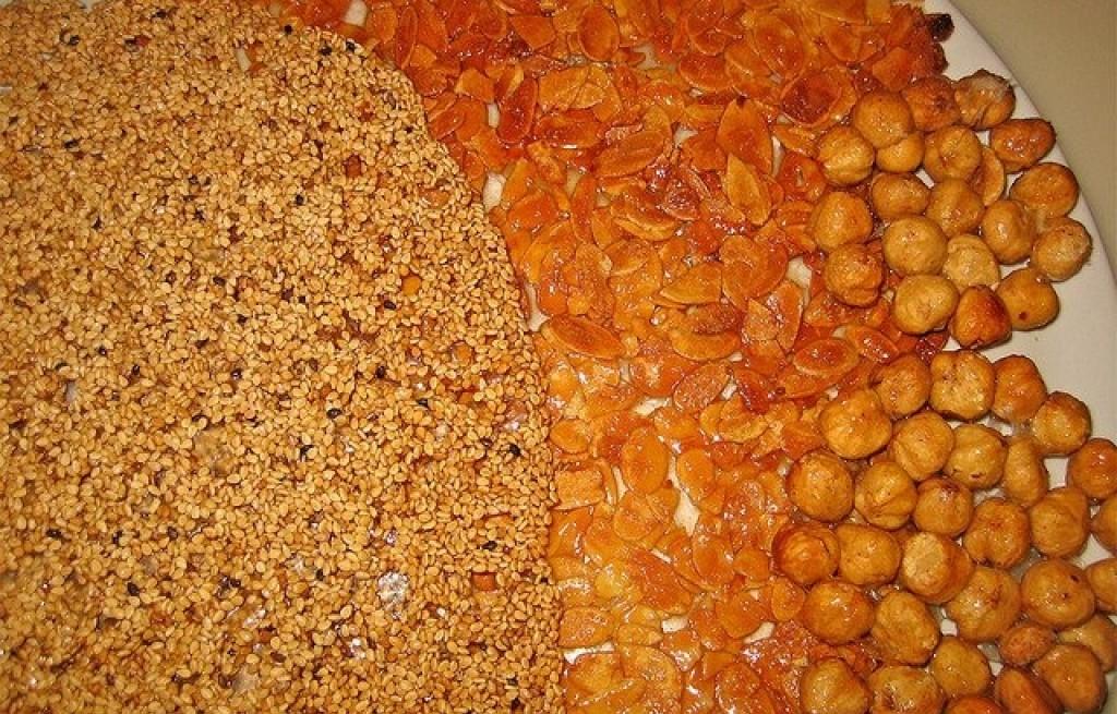 Deser morelowo-orzechowy z syropem kukurydzianym