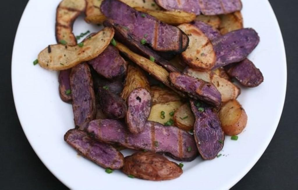 Ziemniaki z octem z grilla